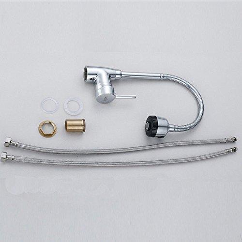 Catalpa Blume Rubinetto miscelatore da cucina girevole a 360 rubinetto miscelatore monocomando