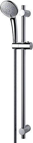 Ideal Standard B9508AA Saliscendi Idealrain 3 Getti Attacchi Regolabili Cromo