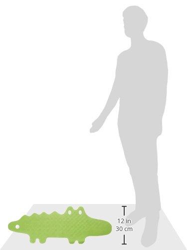 Ikea Patrull Tappetino per Vasca da Bagno Gomma Verde 93x34x1 cm