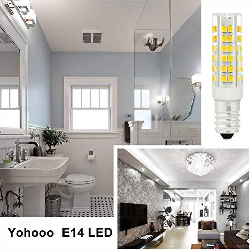 Lampadina LED E147WEquivalenti a 40WLuce Bianco Fredda per Cappa CucinaNonDimmerabilePacco da 3