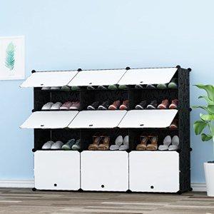PREMAG Torre per riporre gli scarponi portatili Scaffale modulare per riporre gli spazi Scaffale per scarpe per scarpe stivali pantofole 3  5