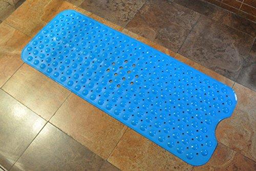 Tappetino per il bagno Domowin Tappetino Bagno a Ventosa Antiscivolo per Doccia 10040 cm