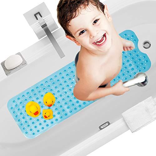 Yardwe Tappetino Antiscivolo per Doccia e Vasca con Ventose da Bagno per Bambini