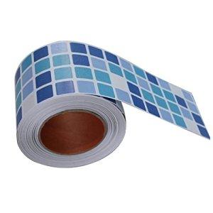 THEE Impermeabile autoadesivi Adesivi da Parete per Piastrelle Mosaico Adesivi Bagno Cucina Scarpette a Strappo Voltaic 3 Velcro Fade  Bambini