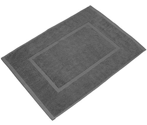 valneo Scendibagno in Puro Cotone Grigio 50x70cm di Prima qualit 800 gm  Tapetino per Bagno Tappeto da Doccia