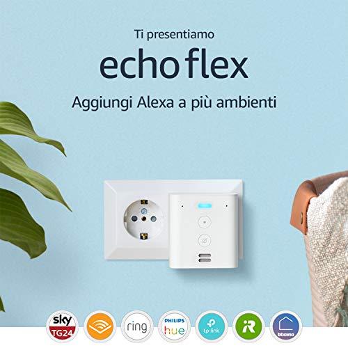 Ti presentiamo Echo Flex  Controlla i dispositivi per Casa Intelligente con comandi vocali grazie ad Alexa