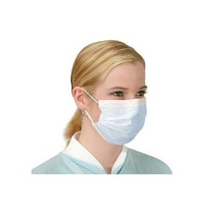 10x Flu Face Masks with Earloops anti virus e inquinamento della