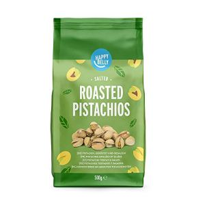 Marchio Amazon  Happy Belly Pistacchi tostati e salati 2x500g