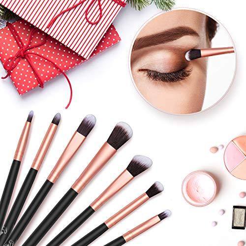 Pennelli Make Up BESTOPE Pennelli per il Trucco Set di 16 Pennelli per il Makeup Professionali Eyeliner Ombretto Sopracciglia