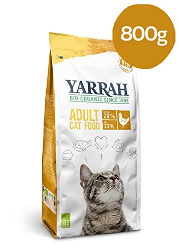 Yarrah Cibo per Gatti Biologico Secco Pollo 800 g