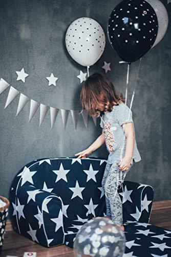 MoMika bambini Divano  I bambini Divano letto  Bambino pieghevole 2in1 divano e letto  04 anni Stars