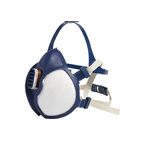 3M FFA1P2 4251C Respiratore per Gas e Vapori a Semimaschera Bianco