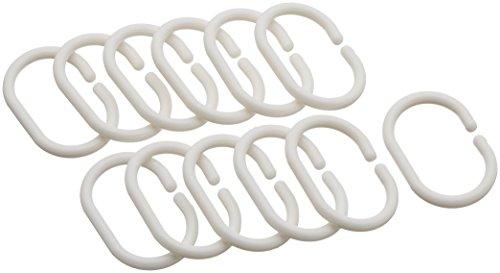 AmazonBasics  Tenda da doccia in poliestere 180 x 180 cm colore bianco