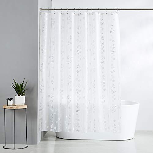 AmazonBasics  Tenda da doccia in polietilene vinil acetato media edera 183 x 200 cm