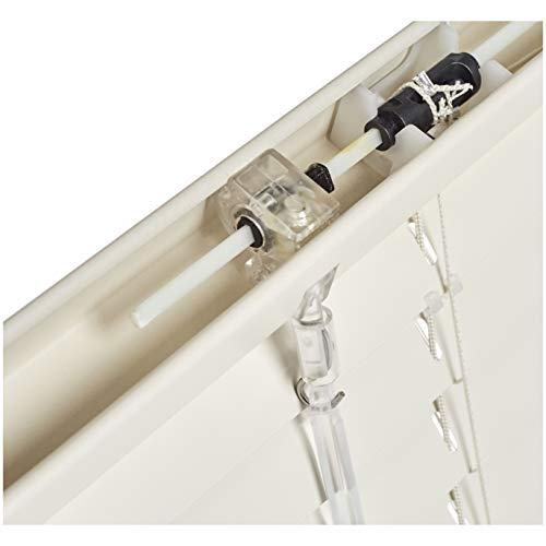 AmazonBasics  Tenda veneziana in alluminio 90 x 130 cm Crema