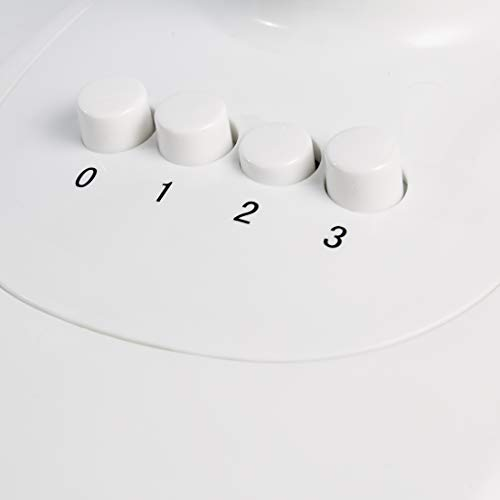 AmazonBasics  Ventilatore oscillante da tavolo a 3 velocit 40 W Nero