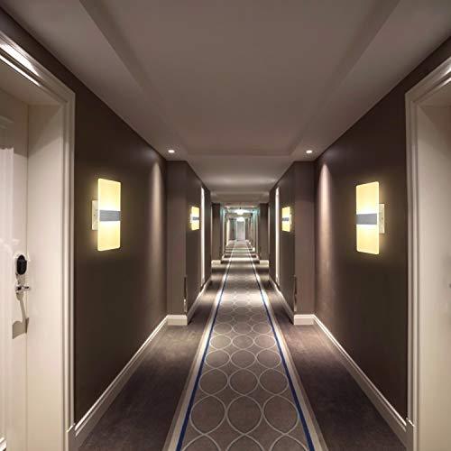 Applique da Parete Interno LED Lampada da Parete Moderno 7W 3 Luci Colori Lampada a Parete interno per Soggiorno Camera da letto Corridoio Scale