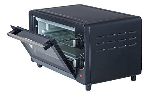 Ardes AR6210B Forno Elettrico Compatto Gustavo Black 10 Litri Doppio Vetro con Accessori Nero 800 W