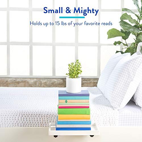 BedShelfie La mensola del Comodino Originale  3 Colori  2 Taglie  Come VISUALIZZATO Insider Aziendale Formato Normale bamb in Bianco