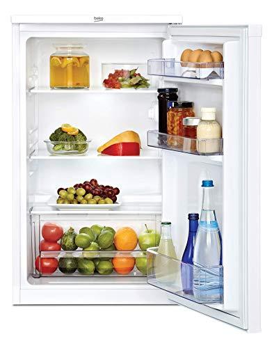 Beko TS 190020 Installazione senza frigorifero sotto il piano di lavoro altezza 818 cm A  bianco mini frigorifero 88L vassoi in vetro pu essere installato nellarmadio da cucina