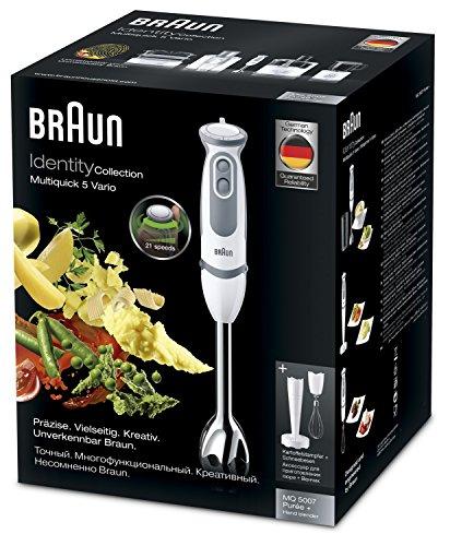 Braun MQ 5007 WH Frullatore ad immersione 750W Bianco frullatore