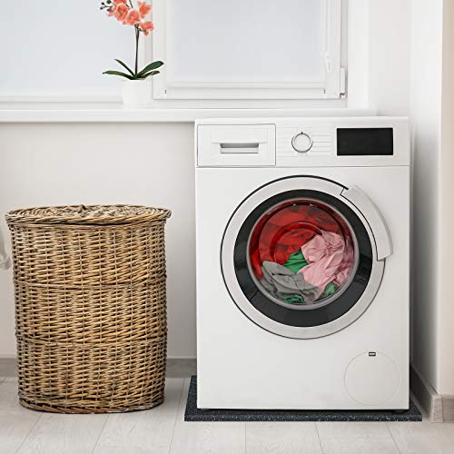 casa pura Tappeto Lavatrice Antivibrazione  Tappeto Antirumore Insonorizzante Isolante in Gomma Reciclata  Vari Spessori e Tagliabile su Misura  20 mm  60x60 cm