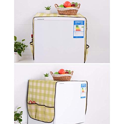 CHUER Frigorifero Antipolvere Pratico Domestici Impermeabile a Prova di Polvere di Copertura per Lavatrice con Tasche