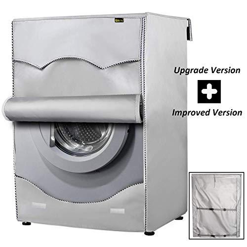 Copertura Lavatrice per Esterno per Le lavatrici  Asciugatrice Coprilavatrice di Spessore Migliore Performance di Crema Solare Antiultravioletti Impermeabile AntipolvereTela pi Spessa60x64x85cm