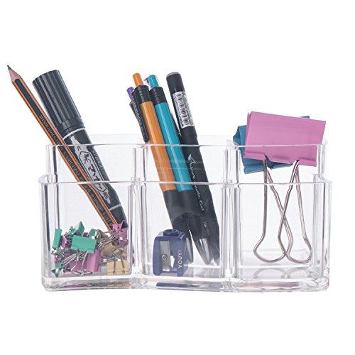 Czemo Organizzatore Trucco in Acrilico Contenitori Trucchi Cosmetic Organizer Porta pennelli Trucco 2