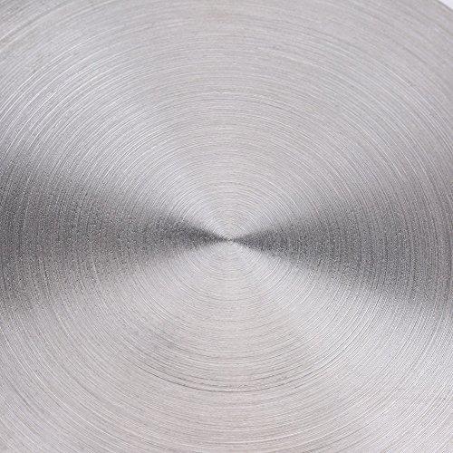 Diffusore di Calore Convertitore di Diffusore di Calore In Acciaio Inossidabile for Accessori for Fornelli Elettrici A Gas 20 Cm  24 cm Taglia  8inch