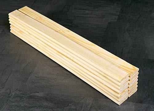 Esidra Lufkin Doghe per Letto Carico Massimo 100 kg Legno NaturalePino Beige 90 x 200 cm
