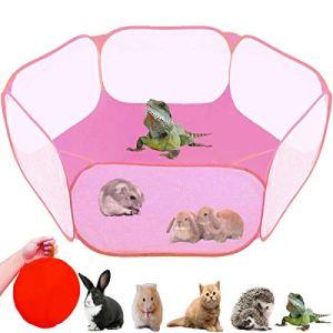 GABraden Tenda per piccoli animali gabbia per rettili traspirante trasparente per animali domestici recinzione portatile Mocassini eleganti da donna