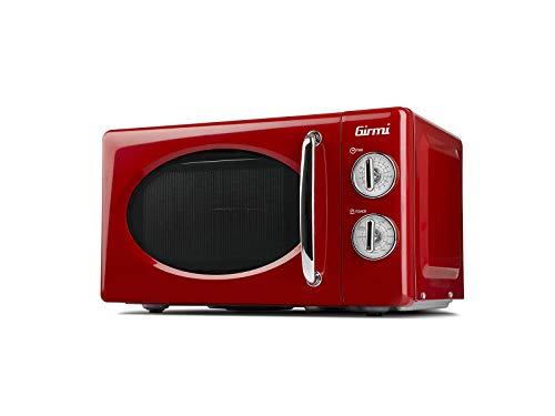 Girmi FM21 Forno Microonde Combinato Vintage Design 20 Litri 700800W Rosso