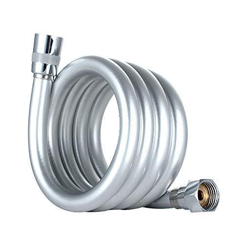 GRIFEMA COMPLENTOG852 Flessibile Doccia in PVC G12 pollici 150 CM Tubo Doccia da Anti Torsione BiancaCromo