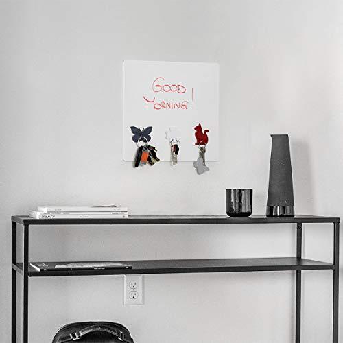 KalaMitica Gatto Design Appendino Magnetico Resina ABS Rosso 7 x 51 cm
