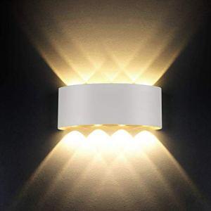 Lampada da pareteModerno 8W LED Interni Applique da parete decorativa per soggiornocamera da lettocorridoioscalepercorso