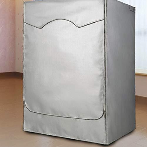 Lavatrice Cover Up Copri per Lavatrice e Asciugatrice Copertura Lavatrice Impermeabile Antipolvere Coperchio Protettivo Antiultravioletti Protegge dal Calore Vento Polvere Solare
