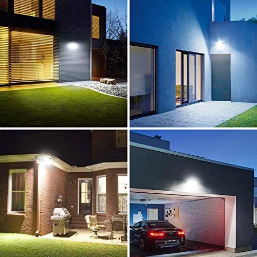 LE Faretto LED da Esterno 30W 3000 lumen Bianco Diurno 5000K Proiettore Faro LED da Esterno Impermeabile IP65 Luce per Giardino Corridoio Illuminazione Interna ed Esterna Confezione da 2 Pezzi