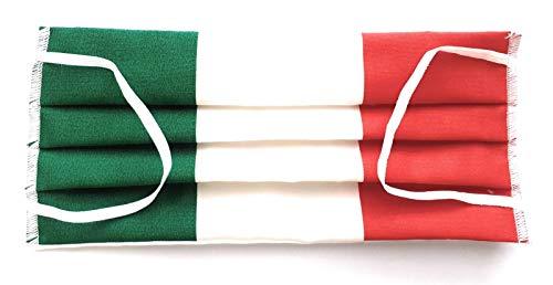 MASCHERINA ITALIA COTONE 100 LAVABILE MADE IN ITALY