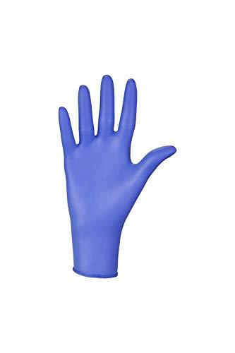 Nitrylex Guanti in Nitrile Monouso 100 Pezzi Box Senza Polvere Colore Blu Misura XL