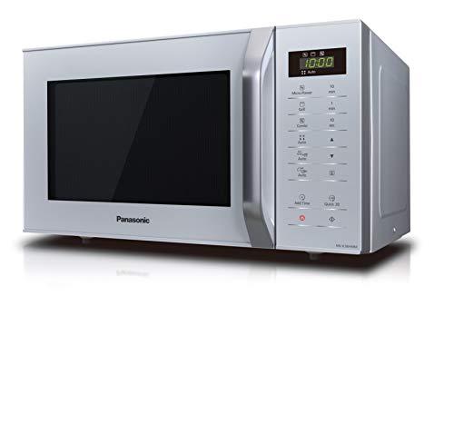 Panasonic NNK36HMMEBG Forno a Microonde Combinato con Grill 11 Programmi Automatici Quick Start 30 Secondi Sicurezza Bambini 800 W 23 Litri 63 Decibel 5 velocit Silver