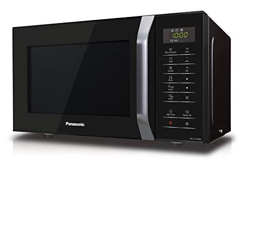 Panasonic NNK37HBMEBG Forno a Microonde Combinato con Grill 11 Programmi Automatici Quick Start 30 Secondi Sicurezza Bambini 800 W 23 Litri 63 Decibel 5 velocit Nero