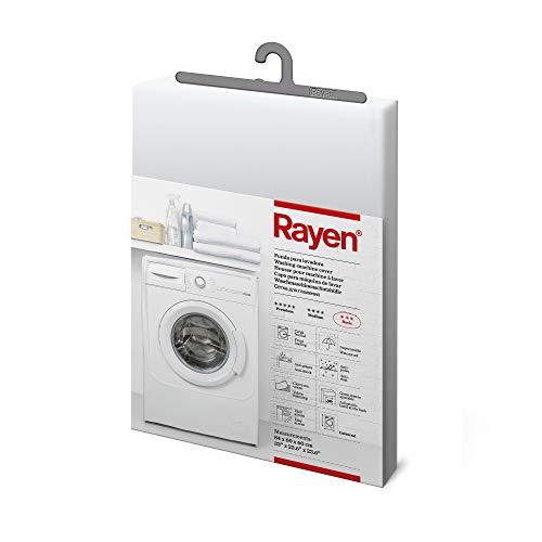 Rayen 239811 base caricamento frontale Copertura impermeabile per lavatriceasciugatrice 84 x 60 x 60 cm  Materiale PVA  Coperchio con chiusura a velcro  Confezione da 8 unit Peva Chiaro