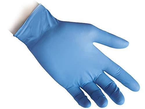 Reflexx R70 Guanti in Nitrile senza Polvere Taglia L 49 100 Pezzi Azzurro