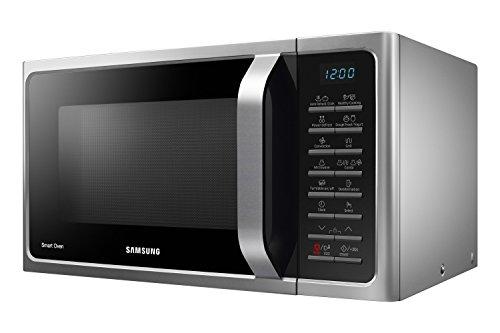 Samsung MC28H5015AS Forno Microonde Grill Combinato 28 Litri SmartOven 900 W Grill 1500 W 517 x 31 x 476 cm Argento