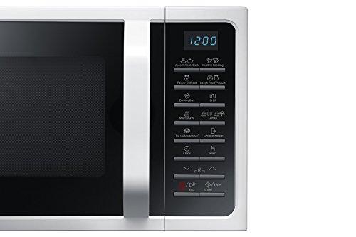 Samsung MC28H5015AW Forno Microonde Grill Combinato 28 Litri SmartOven 900 W Grill 1500 W Bianco