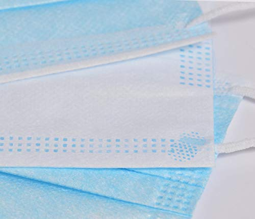 ShirtPanda  Paradenti usa e getta a 3 strati con passanti per le orecchie maschera antipolvere a tre strati per adulti e bambini