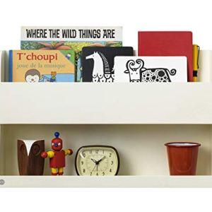 Tidy Books Scaffale per il letto Mensola per libri bambini Multiuso Ripiano legno Da parete Letto a castello Panna 33 x 53 x 12 cm Ecologico Fatto a mano Loriginale Bunk Bed Buddy