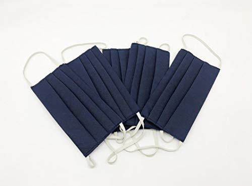 TNT riutilizzabili ad uso individuale generico lavabile con elastici  100 Made in Italy  5pz Blu