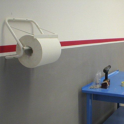 VERDELOOK Portarotolo a Parete 39x42 cm Bianco Industriale casa a Muro